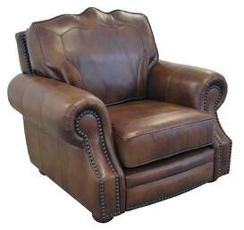 "Westland and Birch Winchester 48"" W Top Grain Leather Club Chair Fabric: Brompton Espresso Genuine Leather"