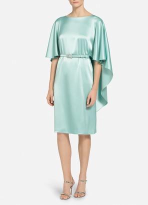 St. John Lightweight Liquid Satin Dress