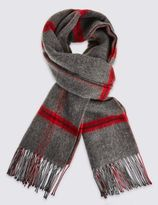 Marks and Spencer Grid Checked Scarf