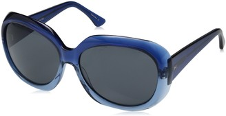 H Halston Women's HH 625 Square Fashion Designer UV Protection Sunglasses