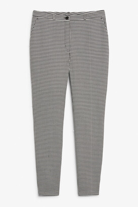 Monki Dressy tapered trousers