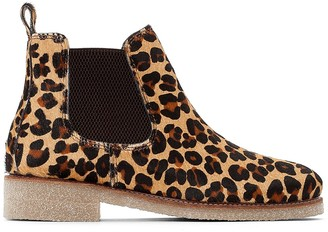 Bensimon Crepe Ankle Boots