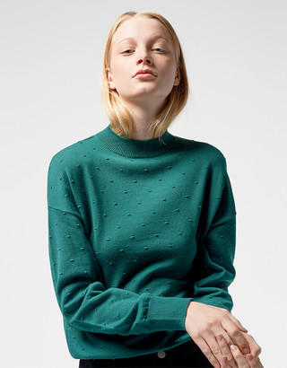 Wemoto Green Esme Pullover - S | green - Green/Green