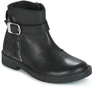 Aster ELOA girls's Mid Boots in Black