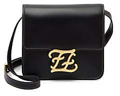 Fendi Women's Karligraphy Leather Crossbody Bag