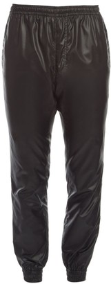 Versace Faux Leather Joggers