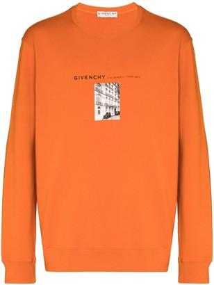 Givenchy x Browns 50 Address logo-print sweatshirt