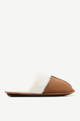 Ardene Moccasin Slide Slippers