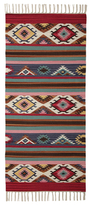 Karma Living Desert Bloom Intriguing Landscape Handmade Cotton Rug