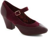 Bait Footwear Bliss Is It Heel in Burgundy