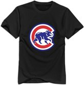 Enlove Chicago Cubs 100% Cotton T Shirt For Men Size XL