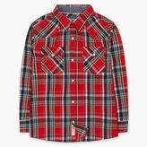 Levi's Boys (8-20) Barstow Western Plaid Shirt