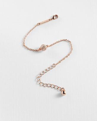 Ted Baker Pave Circle Swarovski Crystal Bracelet