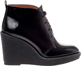 Marc by Marc Jacobs 636874 Wedge Boot Black Patent