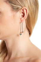 Rebecca Minkoff Gemstone Hard Wire Threader Earrings