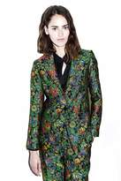 3.1 Phillip Lim Floral cloque blazer