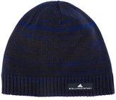 adidas by Stella McCartney knitted beanie hat - women - Cotton - One Size