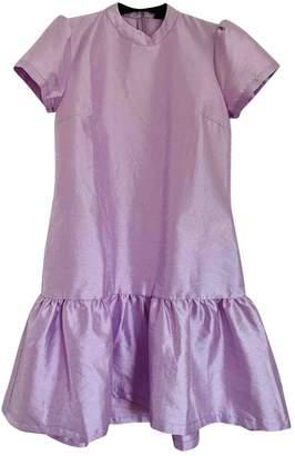 N. Résumé Resume \N Purple Polyester Dresses