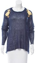 Wildfox Couture Intarsia Knit Sweater w/ Tags