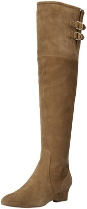 Nine West Women's JAEN Leather Fashion Boot