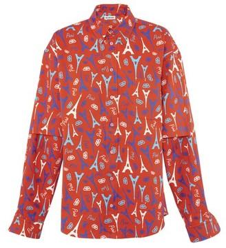 Balenciaga BB long-sleeved shirt