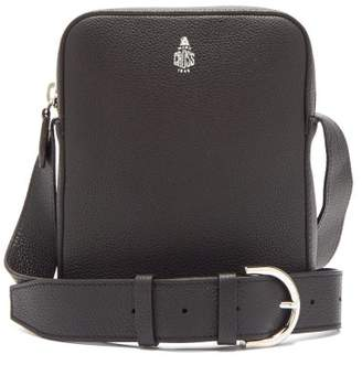 Mark Cross Baker Grained Leather Cross Body Bag - Mens - Black