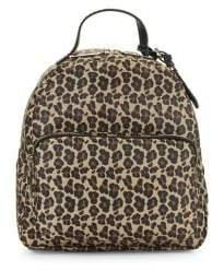 Tommy Hilfiger Julia Leopard-Print Dome Backpack