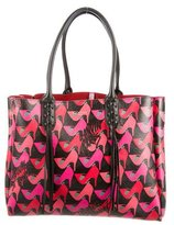 Lanvin 2016 Shoe Print Shopper Tote