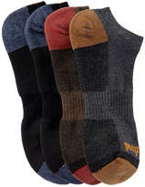Timberland Outdoor Leisure No Show Socks - Pack of 4