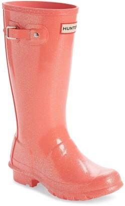 Hunter Starcloud Glitter Rain Boot (Little Kid & Big Kid)