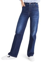 Madewell Women's High Waist Wide Leg Jeans