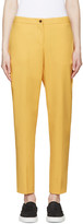 Aalto Yellow Tailored Trousers
