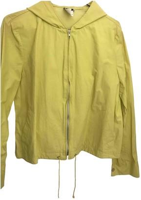 Michael Kors Yellow Cotton Jackets