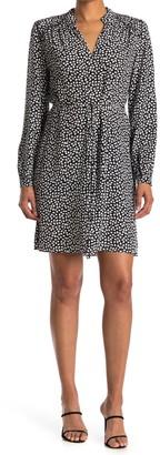 Diane von Furstenberg Glenda V-Neck Belted Dress