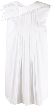 Marni Pleated Sleeveless Blouse