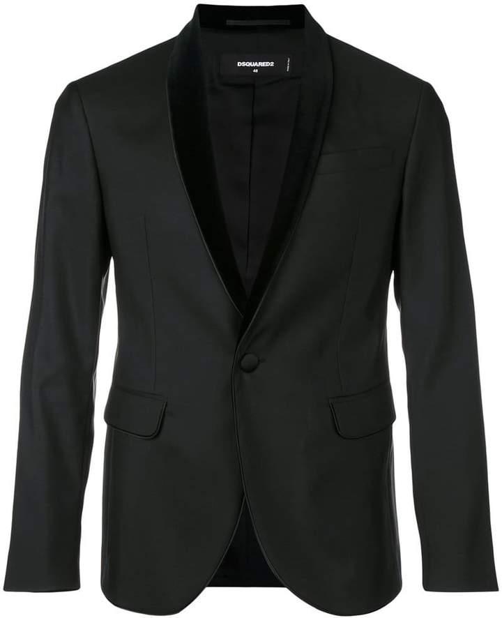 DSQUARED2 shawl collar tuxedo jacket