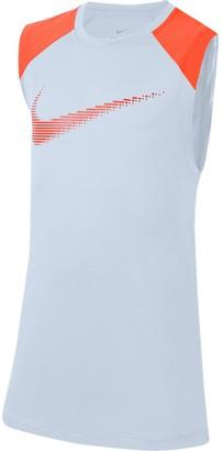 Nike Boys 8-20 Sleeveless Graphic Training Top
