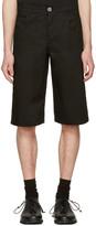 Telfar Black Pockets Shorts