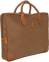 Bric's Life Briefcase with Large Handle - Camel