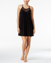 Alfani Lace-Trimmed Scoop-Neck Chemise, Only at Macy's