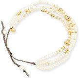 Tai Pearl Silk Cord Bracelet