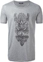 Balmain animals tribal T-shirt - men - Cotton - XL
