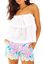 Lilly Pulitzer Buttercup Scallop Hem Short