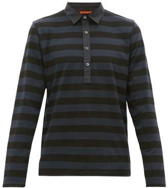Barena Venezia - Saraca Striped Cotton Rugby Shirt - Mens - Navy Multi