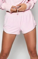 KENDALL + KYLIE Kendall & Kylie Velour Track Shorts