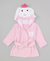 Hudson Baby Princess Bunny Animal Bathrobe