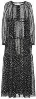 Stella McCartney Polka-dot cotton and silk maxi dress