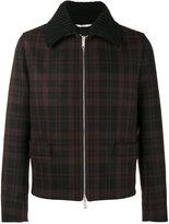 Valentino checked shirt jacket - men - Acrylic/Polyamide/Polyester/Wool - 48