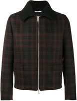 Valentino checked shirt jacket