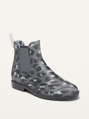 Old Navy Water-Repellent Pull-On Rain Boots for Women